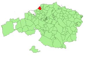 Barrika - Image: Bizkaia municipalities Barrika