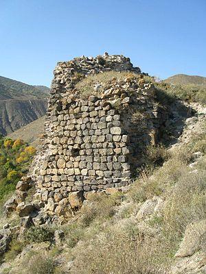 Bjni Fortress - Image: Bjni Fortress Wall