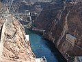 Black Canyon, Colorado River from Hoover Dam, Lake Mead National Recreation Area, Arizona-Nevada Border (2639411797).jpg