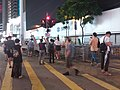 Black dark night 香港反對逃犯條例 Anti-HK bill demo against extradition bill protect CWB Yee Wo Street Hennessy Road July 2019 SSG 14.jpg