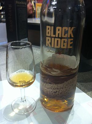 Small batch whiskey - Image: Black ridge small batch bourbon