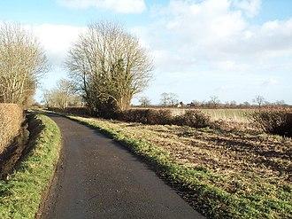Castle Eaton - Image: Blackford Lane