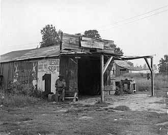 Mayersville, Mississippi - Historic photo of blacksmith