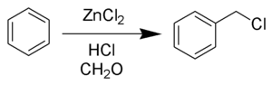 Blanc Chloromethylation Reaction Scheme.png