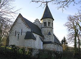 The church in Blangy-sous-Poix
