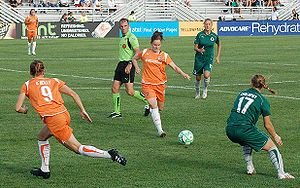 Sky Blue FC - Sky Blue FC battle in St. Louis during the 2009 postseason