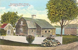 New Castle, New Hampshire - Image: Boatswain Allen's House, New Castle, NH