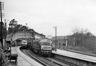 Bodmin Parkway railway station - The station (then known as 'Bodmin Road') in 1964