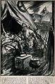 Boer War; an army medical officer, Joseph Hinton, pulling do Wellcome V0015567.jpg