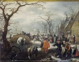 Shrove Tuesday in a country village