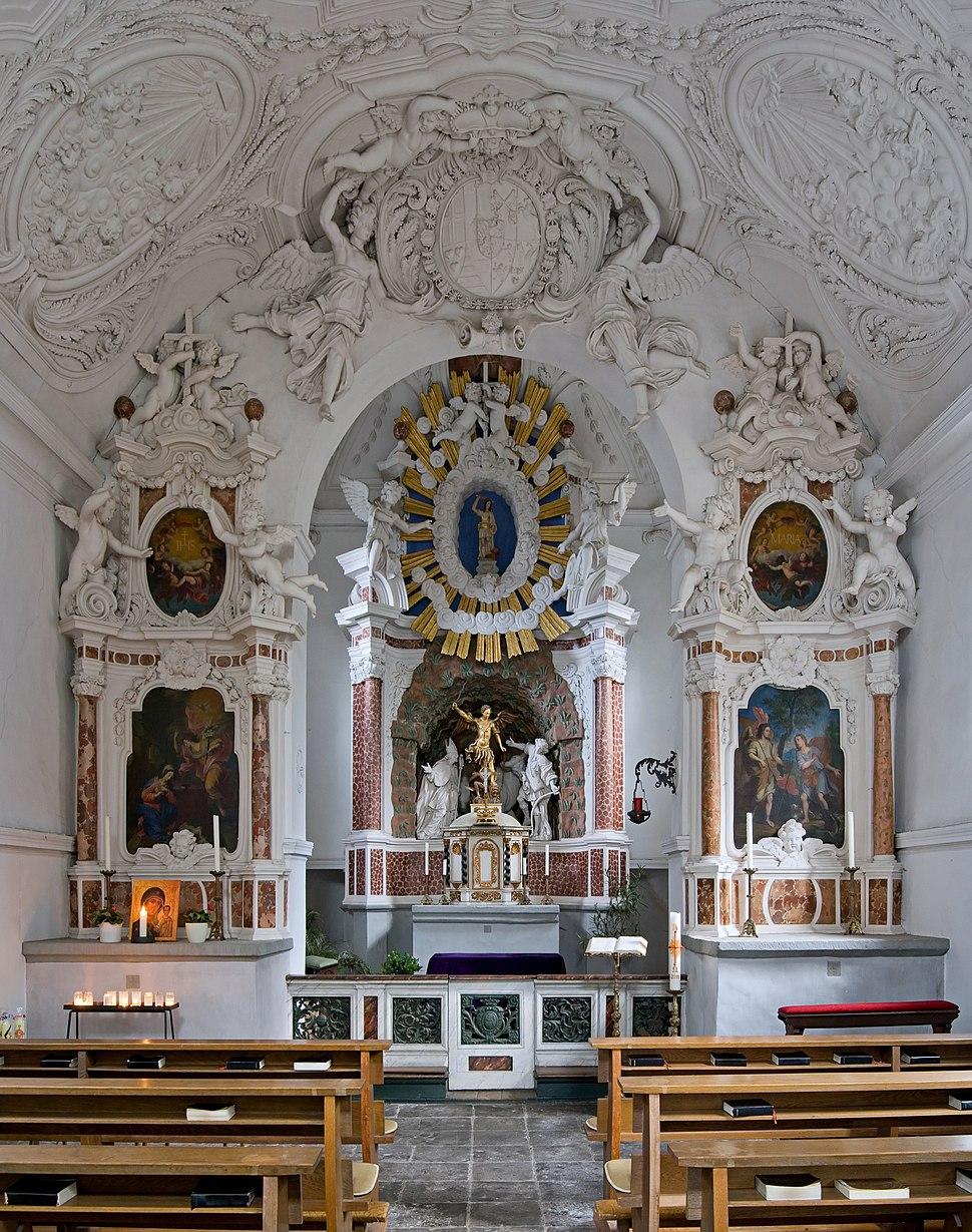 Bonn, Bad Godesberg, Michaelskapelle, 2012-02 CN-01
