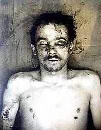 Cadáver de Jules Bonnot