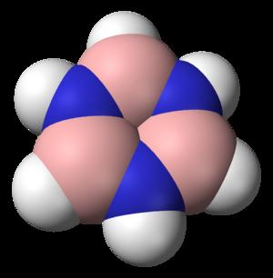 Borazine - Image: Borazine 3D vd W