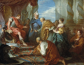 Boucher - Joseph Presenting His Father and Brothers to the Pharaoh, c. 1723-26.png