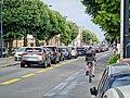 Boulevard George V à Bordeaux au croisement de la rue Gaston Lespiault.jpg
