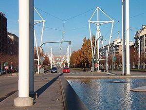 Boulevard Spina Centrale Torino