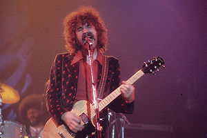 Boston (band) - Brad Delp, the original lead singer. Along with Scholz, Delp was the only other person signed to Epic Records as Boston.