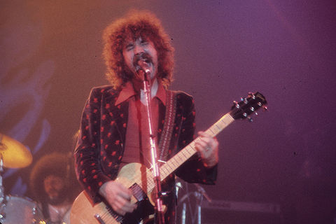 Brad Delp, the original lead singer. Along with Scholz, Delp was the only other person signed to Epic Records as Boston. Brad Delp.jpg