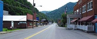 Bradshaw, West Virginia - Bartley Store Bottom Road in Bradshaw