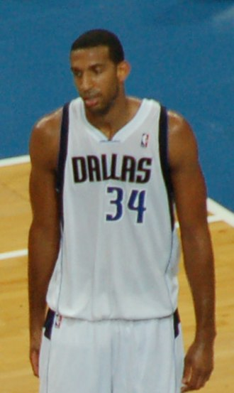 Brandan Wright - Wright with the Mavericks in October 2012