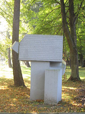 Heiligenbeil Pocket - Monument in Braniewo (Braunsberg) honoring fallen Red Army soldiers