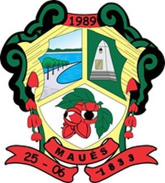 Maués - Image: Brasão de Maués