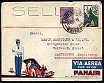 Brazil 1933-12-30 airmail cover Panair.jpg