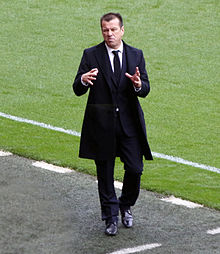 faf3869301 Dunga as a coach of Brazil in 2015.