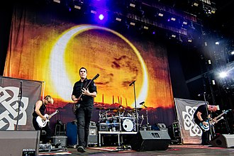 Breaking Benjamin - Breaking Benjamin performing at Rock am Ring in Germany 2016.