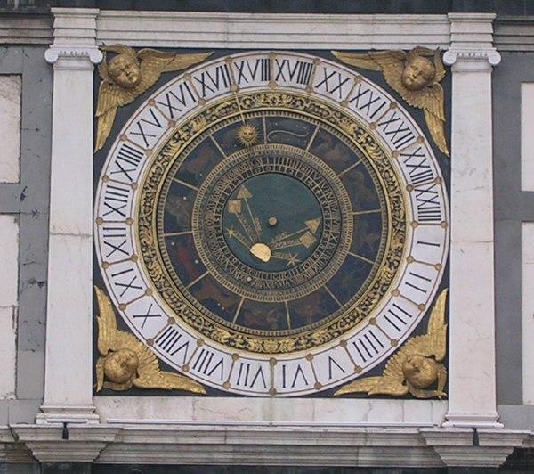 Brescia astro clock