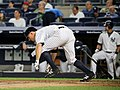 Brett Gardner during game against Dodgers 9-13-16 (2).jpeg