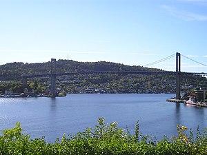 Frierfjord - Brevik Bridge