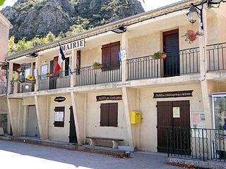 Briançonnet Commune in Provence-Alpes-Côte dAzur, France