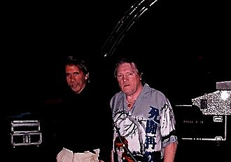 Brian Auger - Brian Auger after a show at the Cabaret de Monte-Carlo with bassist-arranger Pino Presti in 2006