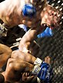 Brian Stann punches Jeremiah Billington during WEC 30.jpg