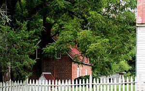 Black Walnut (Clover, Virginia) - Brick Kitchen, Circa 1800