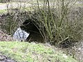 Bridge leading from lodge at Deeply Vale - geograph.org.uk - 380457.jpg