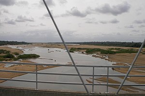 Save River (Africa) - A view of the Save in Mozambique