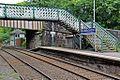 Bridges and signal box, New Mills Central railway station (geograph 4512176).jpg