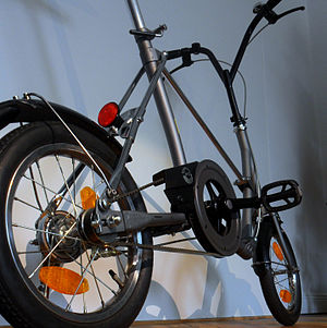 Bridgestone Picnica - According to the 1985 Bridgestone catalog, the Picnica OPC-14B was the first folding bike with a belt drive.
