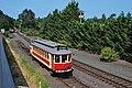 Brill-replica streetcar 514 on Willamette Shore Trolley line, 8-16-14.jpg