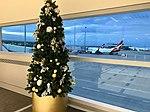 Brisbane Airport, Virgin Blue Domestic Terminal at Christmas 2016, 02.jpg