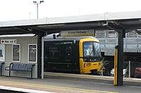 Bristol Parkway - GWR 166219 Weston-super-Mare service.JPG