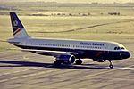 British Airways A320-100 G-BUSD at NCL (31946237141).jpg