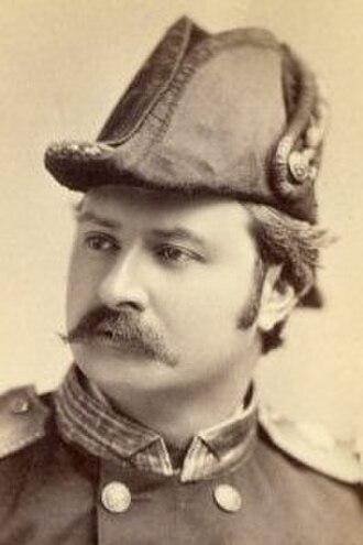 Signor Brocolini - Signor Brocolini as Captain Corcoran in H.M.S. Pinafore