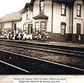 Bronte Station, 1910 (25810872380).jpg