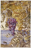 Brooklyn Museum - Grapes and Olives - Henry Roderick Newman
