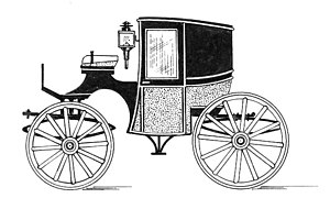 Brougham (carriage) - Brougham carriage