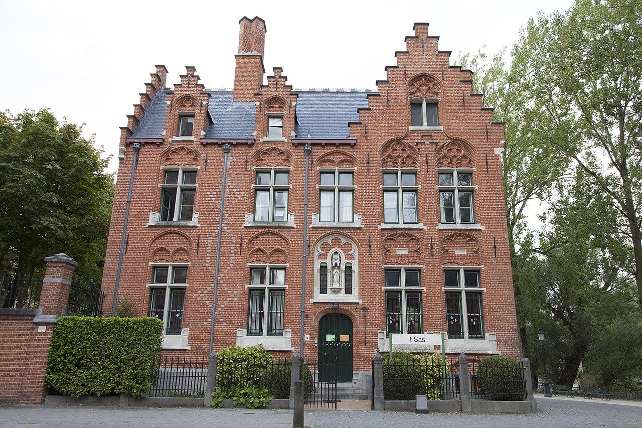 File brugge prof dr j sebrechtstraat 2 vrijstaand huis for Vrijstaand huis achterhoek