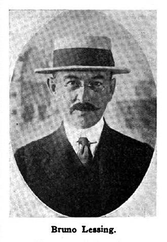 Rudolph Edgar Block - Image: Bruno Lessing 1916